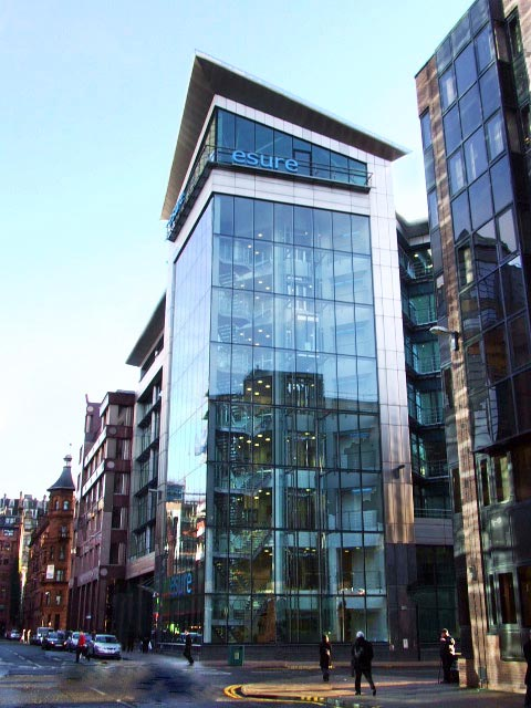 Our office in Glasgow