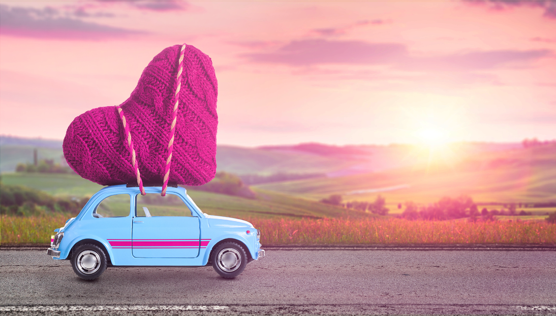 Heart-on-car-image